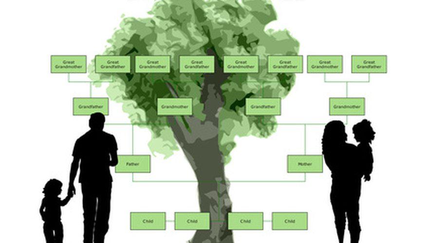 Cómo imprimir un árbol genealógico enorme