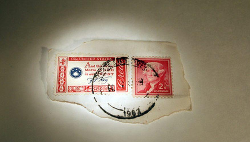 Tipos de sellos postales
