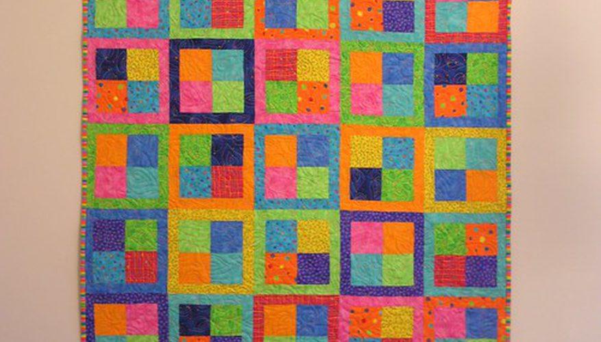 ¿Cuáles son buenos patrones del edredón para las telas del Plaid?