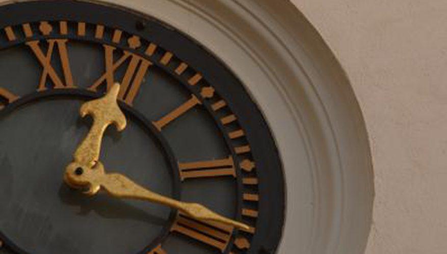 Cómo quitar las manecillas del reloj