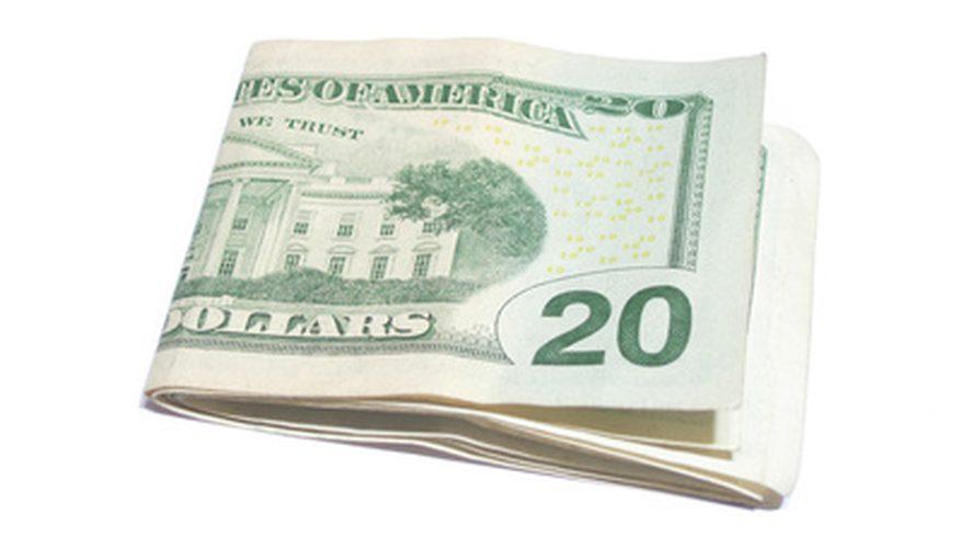 Cómo doblar el billete de 20 dólares para ver las torres gemelas