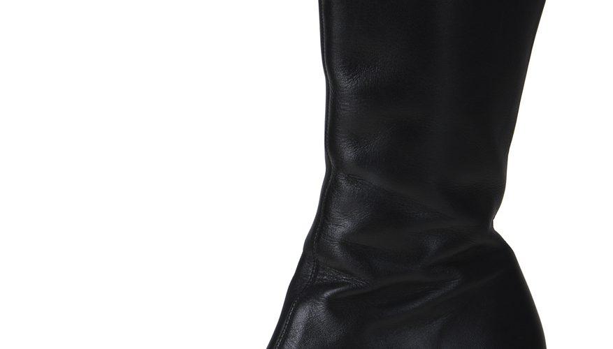 Cómo hacer pliegues en las botas