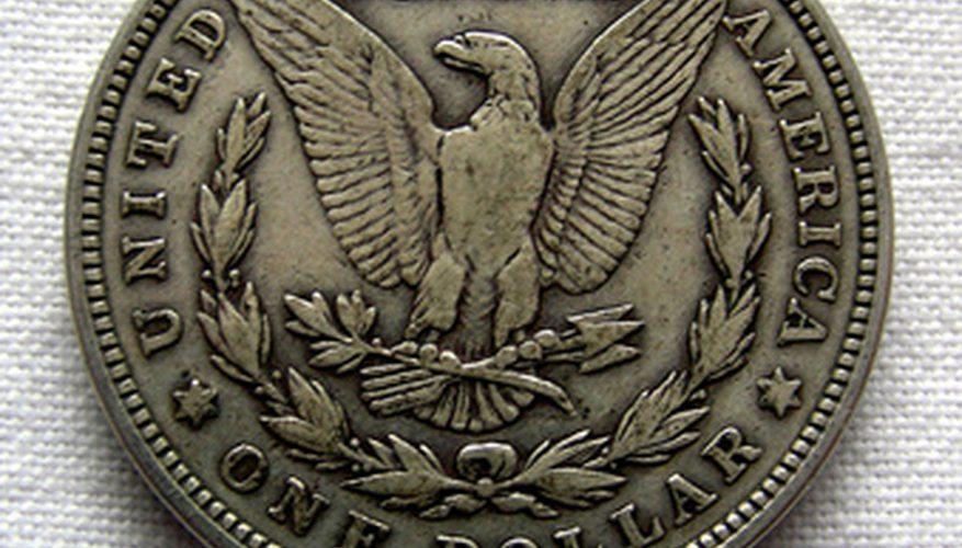Cómo limpiar dólares de plata antiguos