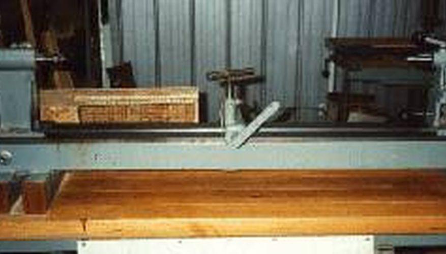 Cómo construir un torno para madera