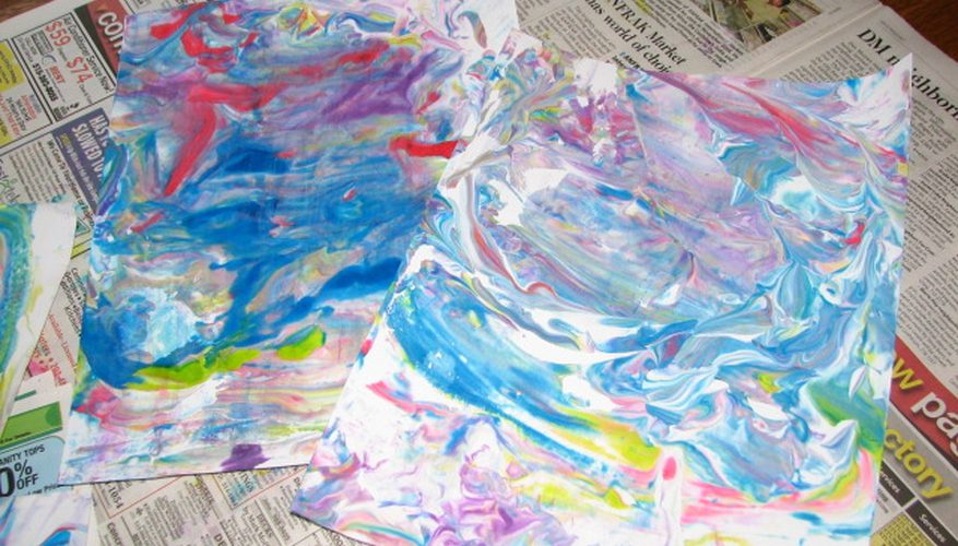 Ideas para la Pintura Preescolar