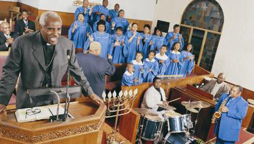 Instrumentos utilizados en la música Gospel espiritual