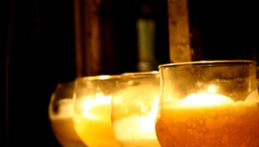 Cómo evitar las burbujas de aire en las velas caseras