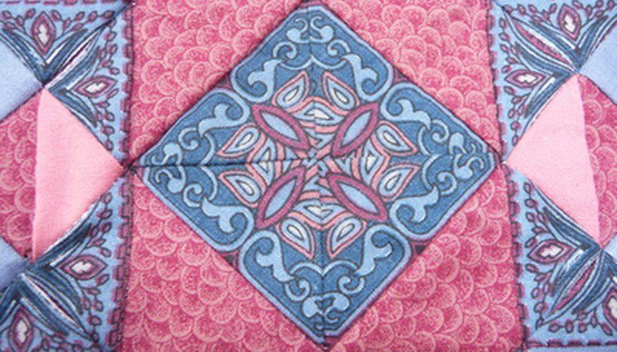 Cómo coser una colcha holandesa