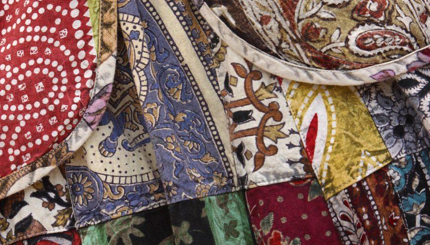 Cómo convertir el saris en edredones