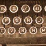 Los tipos de máquinas de escribir