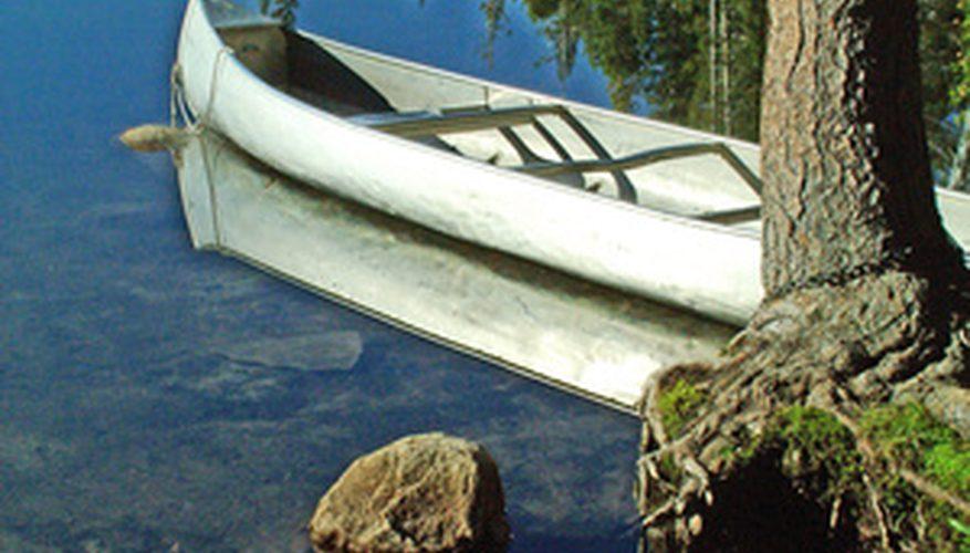 Artesanía en canoa para niños