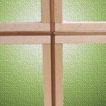 Cómo retroiluminar una cruz de madera