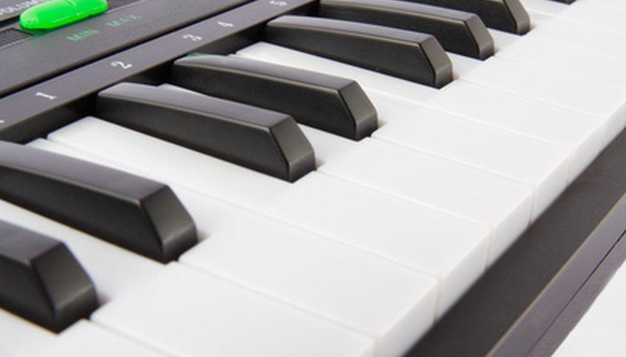 La diferencia entre 61 y 88 pianos de teclado