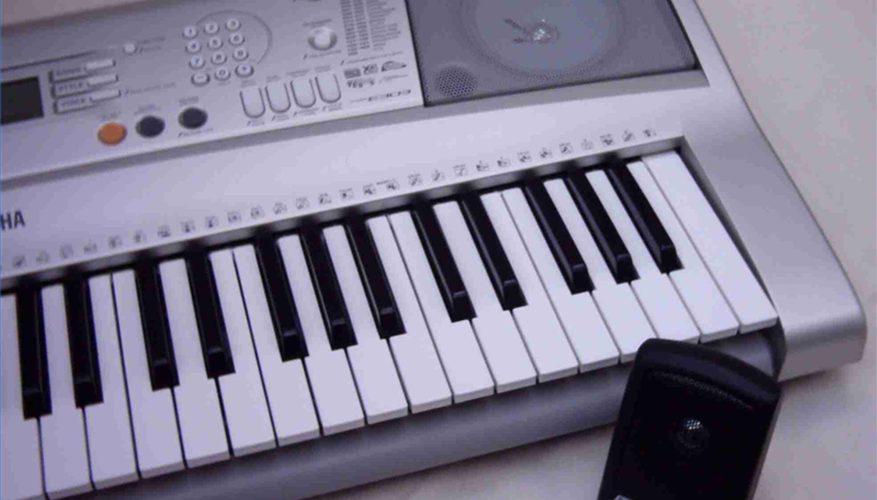 Cómo aprender el teclado de Yamaha