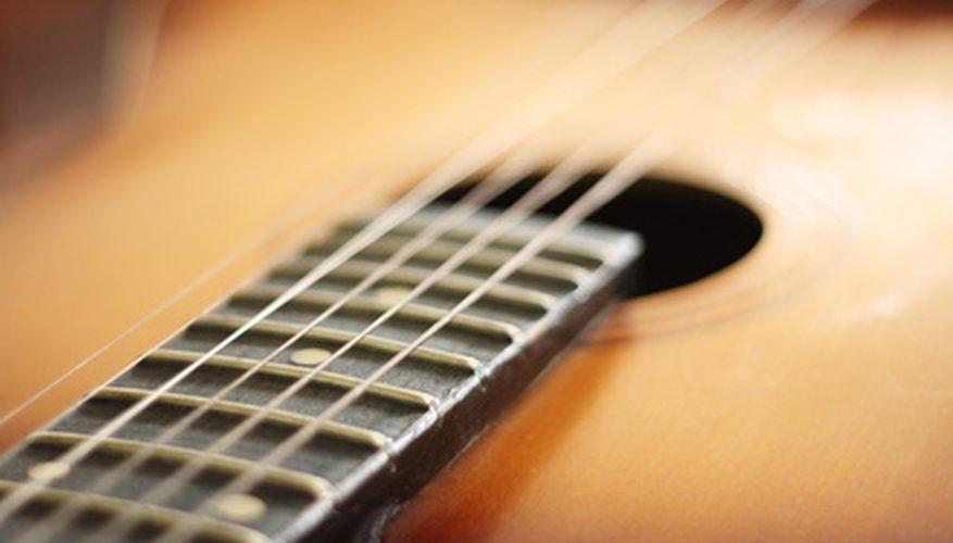 Cómo hacer guitarras acústicas