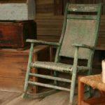 Cómo identificar una silla mecedora antigua