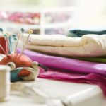 Cómo coser almohadillas redondas