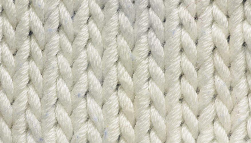 Cómo tejer un suéter Siwash