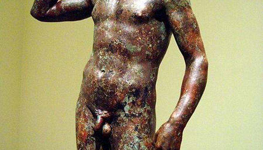 ¿Cómo se hacen las estatuas de bronce?