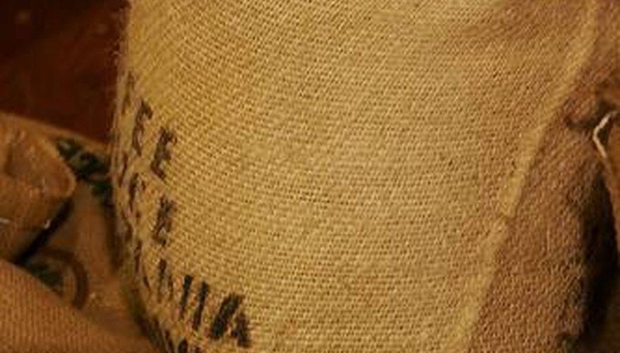 Cómo comprar bolsas de yute