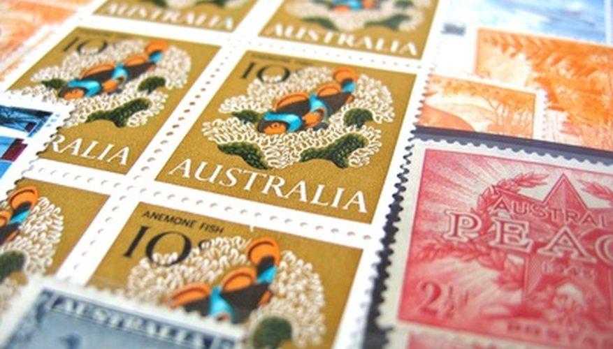 Cómo ver los sellos raros y su valor