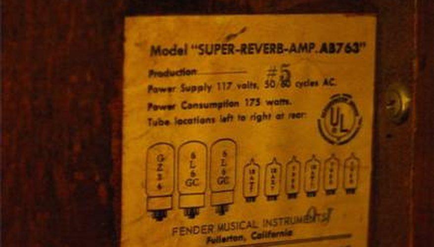 Cómo fechar los amplificadores de reverb Fender Twin
