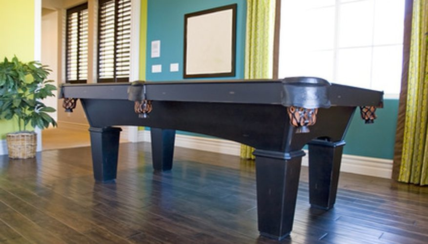 Cómo instalar una mesa de billar Brunswick