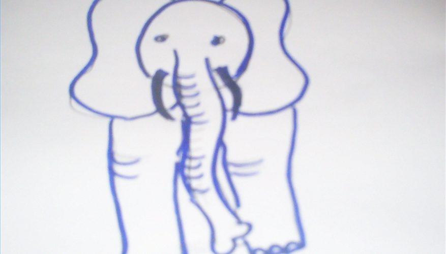 Cómo Dibujar un Elefante