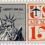El valor de los antiguos sellos postales de EE.UU.
