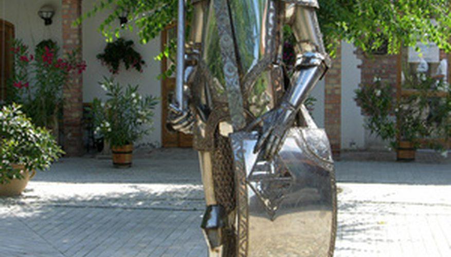 Tipos de esculturas de metal