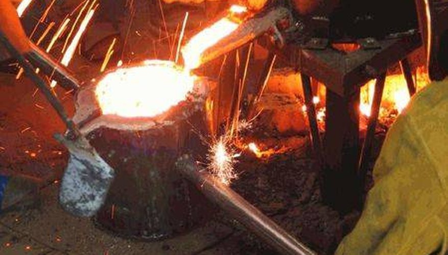 Cómo identificar el mineral de hierro