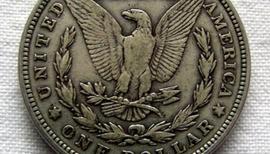 Cómo encontrar marcas de fábrica de la moneda en dólares Morgan