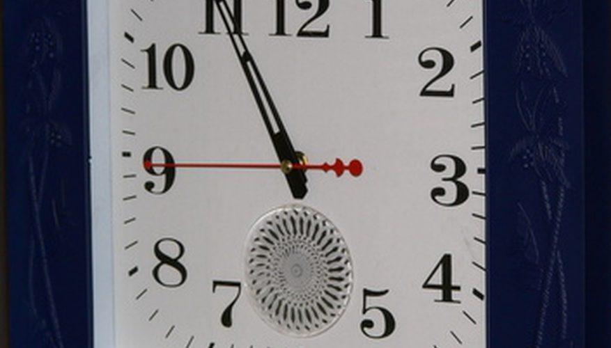 Cómo reparar un reloj eléctrico Pam ruidoso