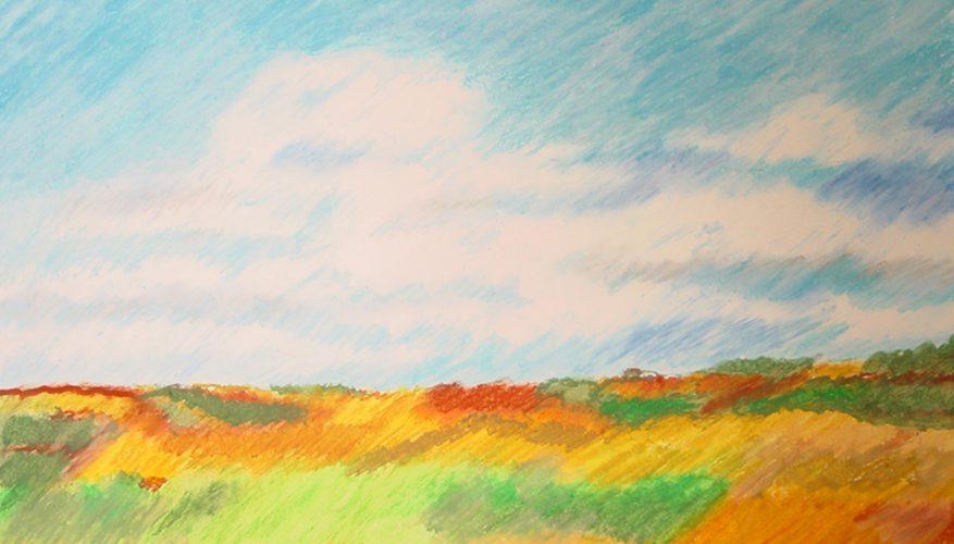 Cómo pintar paisajes con pasteles al óleo