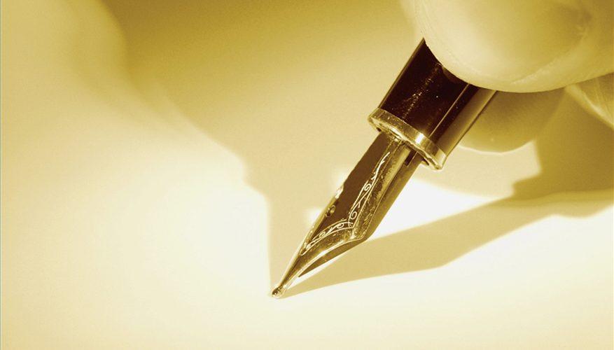 Cómo escribir con una pluma estilográfica