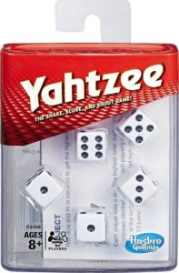 Reglas para Yahtzee