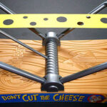 No corte las reglas del juego del queso