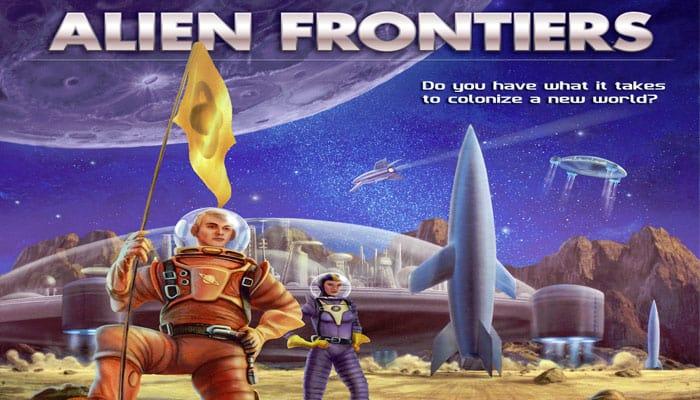 Reglas del juego de Alien Frontiers