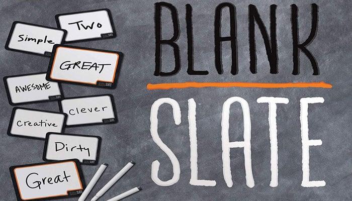 Reglas del juego Blank Slate