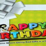 Reglas del juego de cumpleaños de mierda