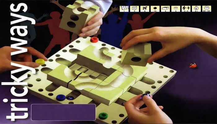 Reglas del juego Cuboro Tricky Ways