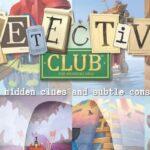 Reglas del juego de Detective Club