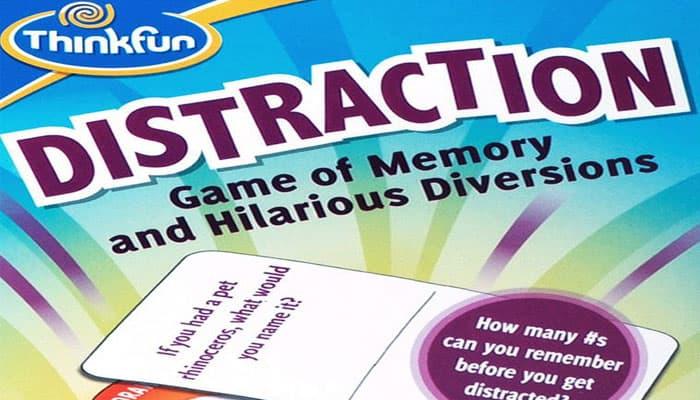 Reglas del juego de distracción