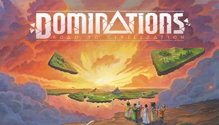 Dominations: Reglas del juego Road to Civilization