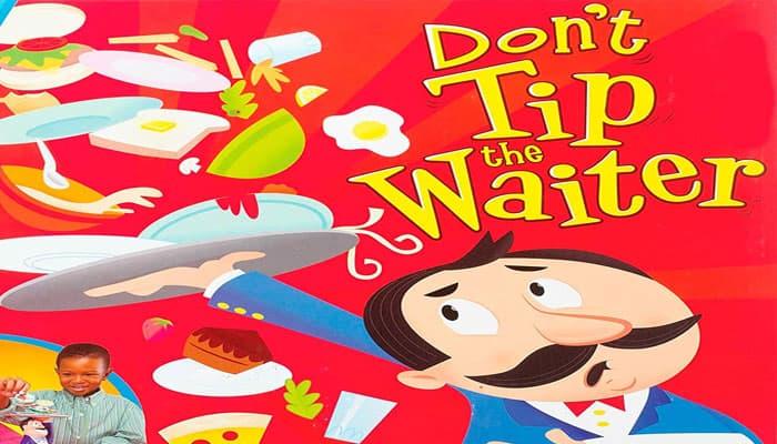 No le dé propina a las reglas del juego del camarero