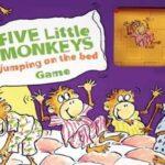 Reglas del juego de los cinco monitos saltando en la cama
