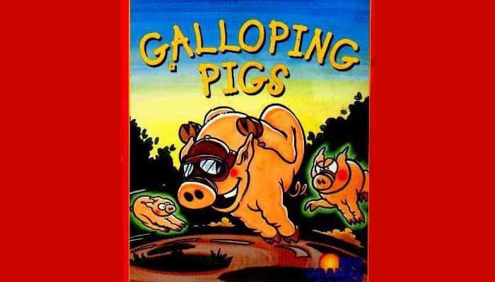 Reglas del juego de cerdos al galope