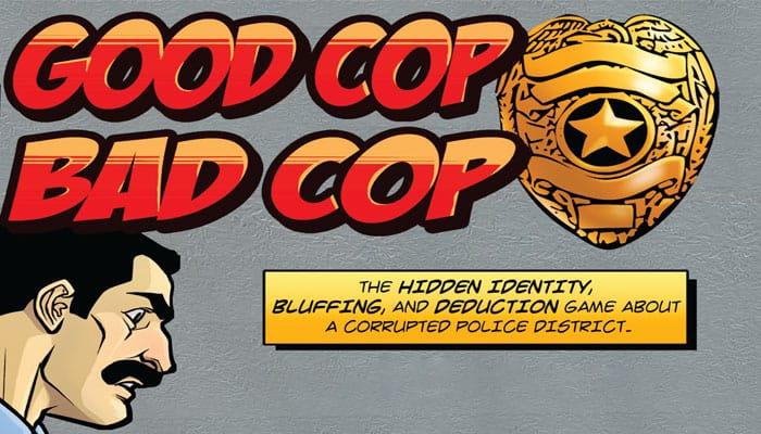 Reglas del juego Good Cop Bad Cop