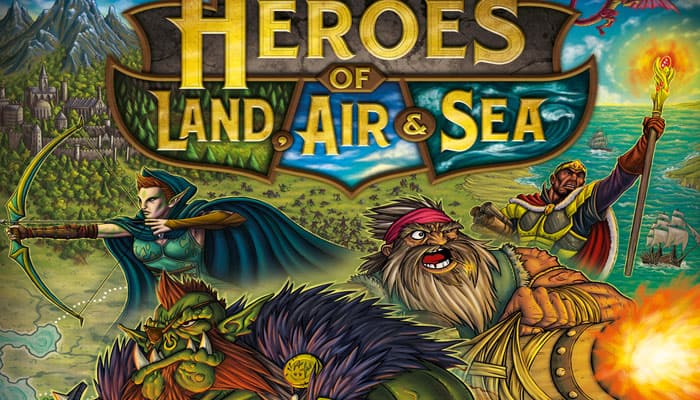 Reglas del juego de Heroes of Land, Air & Sea