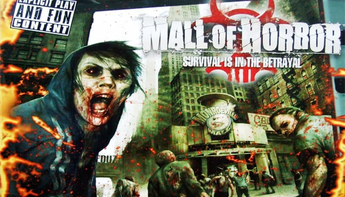 Reglas del juego Mall of Horror